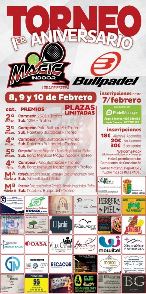 TORNEO PADEL 1º ANIVERSARIO BULLPADEL - Sevilla - 2019