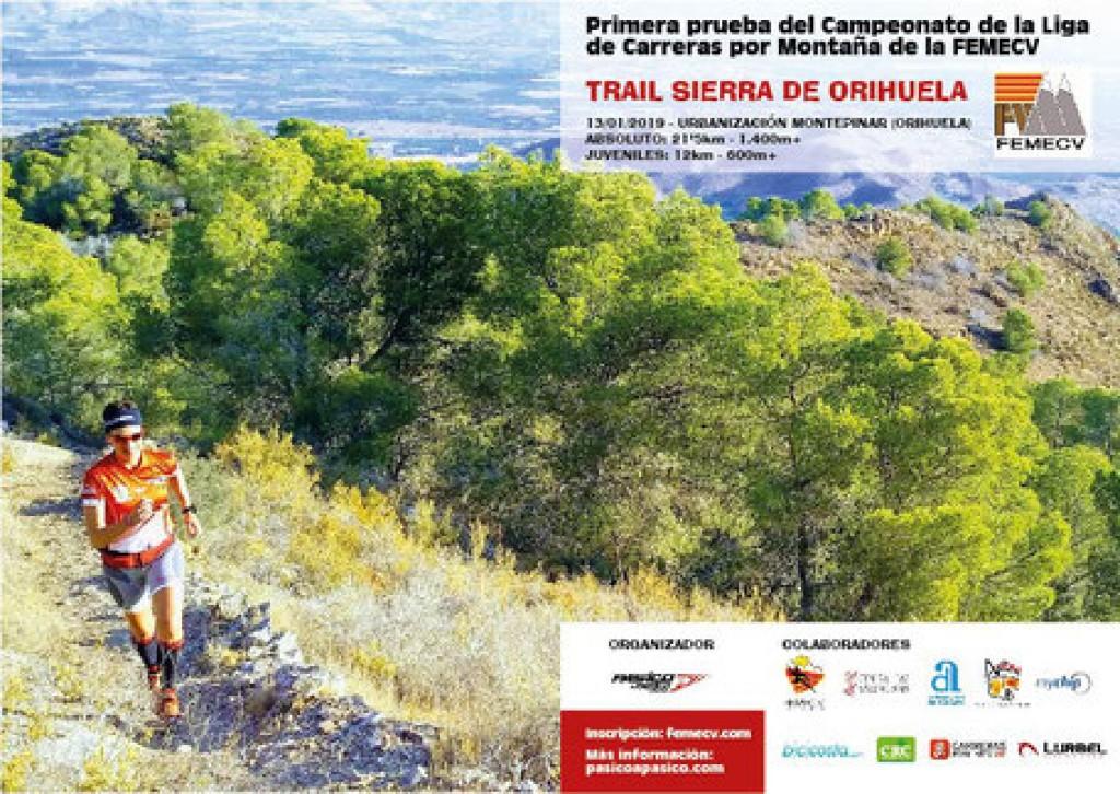 Trail Sierra de Orihuela - Alicante - 2019