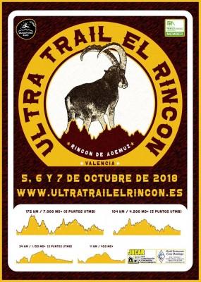 ULTRA TRAIL EL RINCON 2018