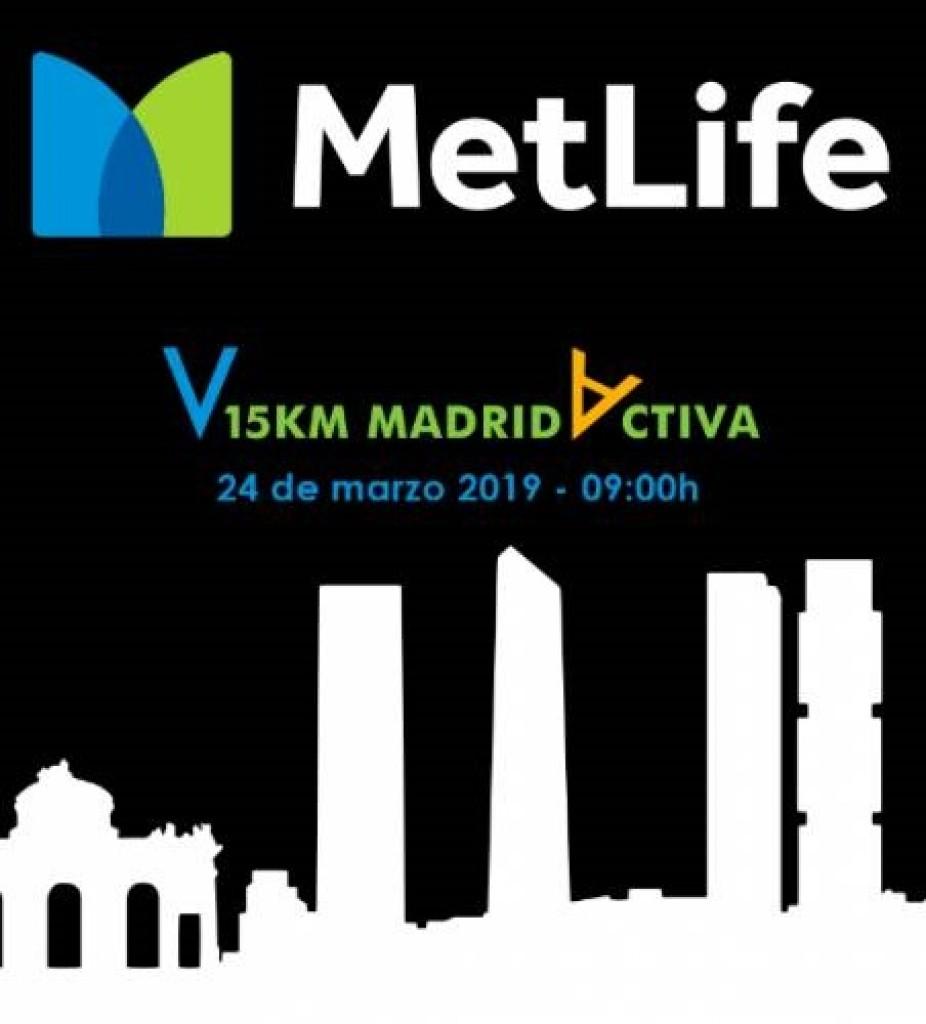 V 15KM Metlife Activa - Madrid - 2019
