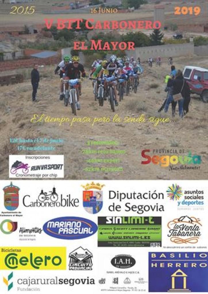 V BTT Carbonero el Mayor - Segovia - 2019