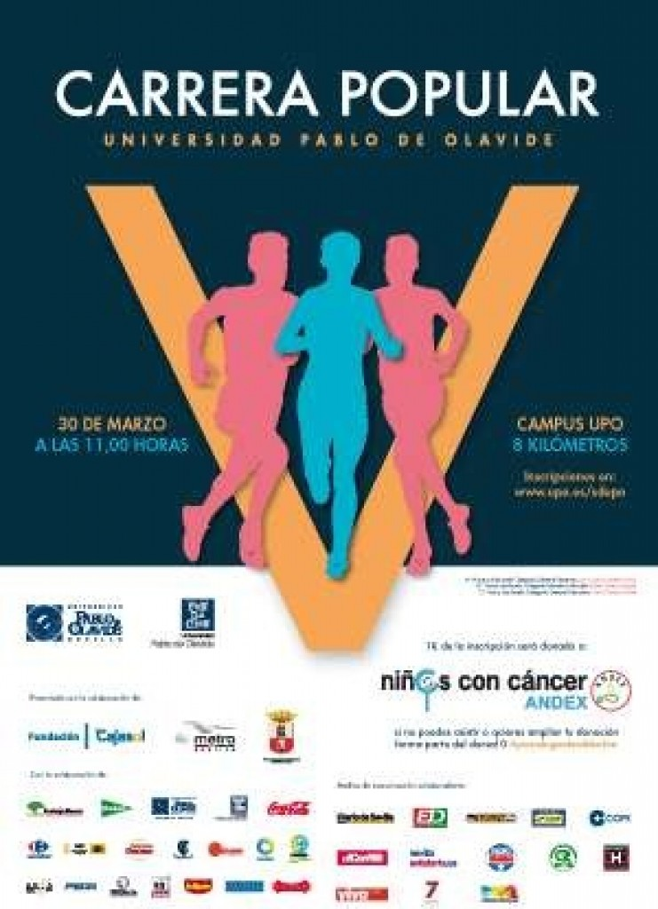 V Carrera Popular de la Universidad Pablo de Olivide - Sevilla - 2019