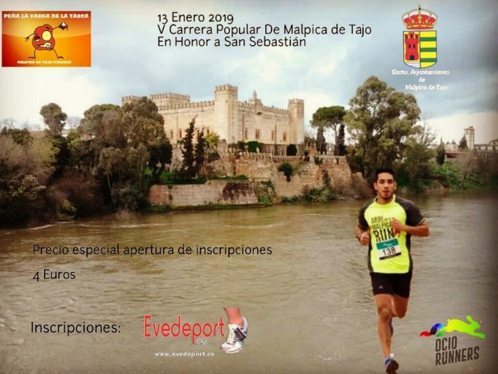 V Carrera Popular Malpica de Tajo - Toledo - 2019