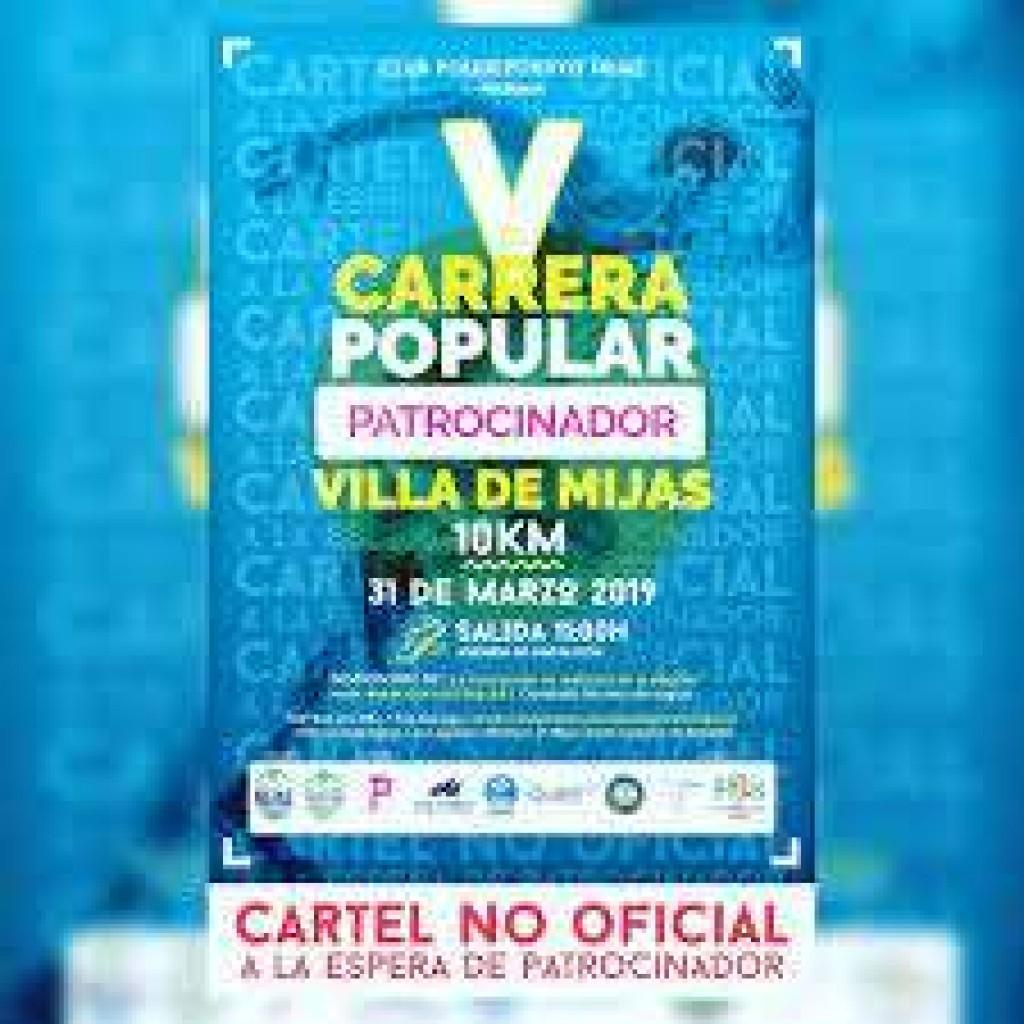 V Carrera Popular Villa de Mijas - Málaga - 2019