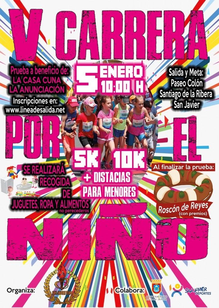 V Carrera por el Niño – San Javier 5k y 10k - Murcia - 2019