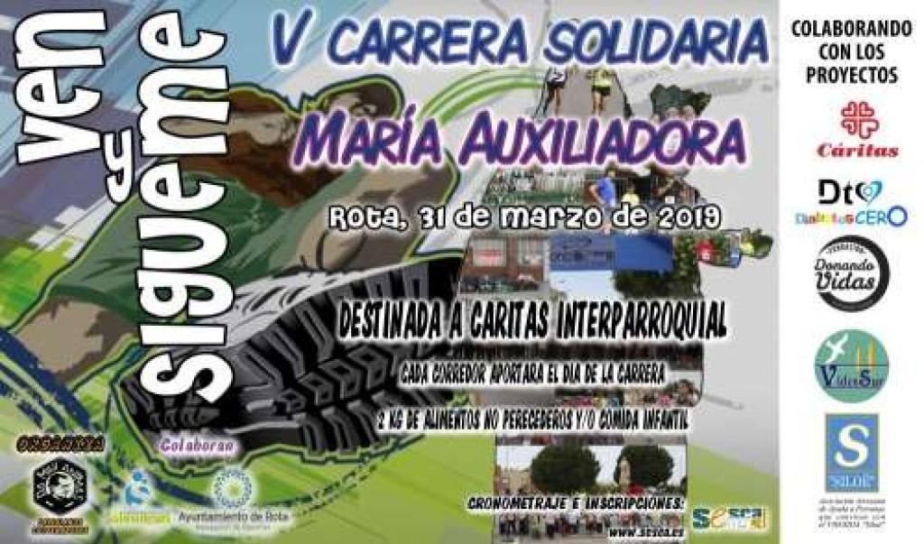 V Carrera Solidaria Mª Auxiliadora - Cádiz - 2019