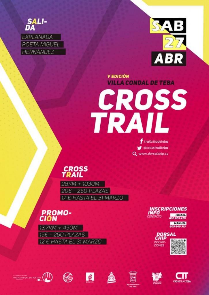 V Cross Trail Villa de Teba - Málaga - 2019