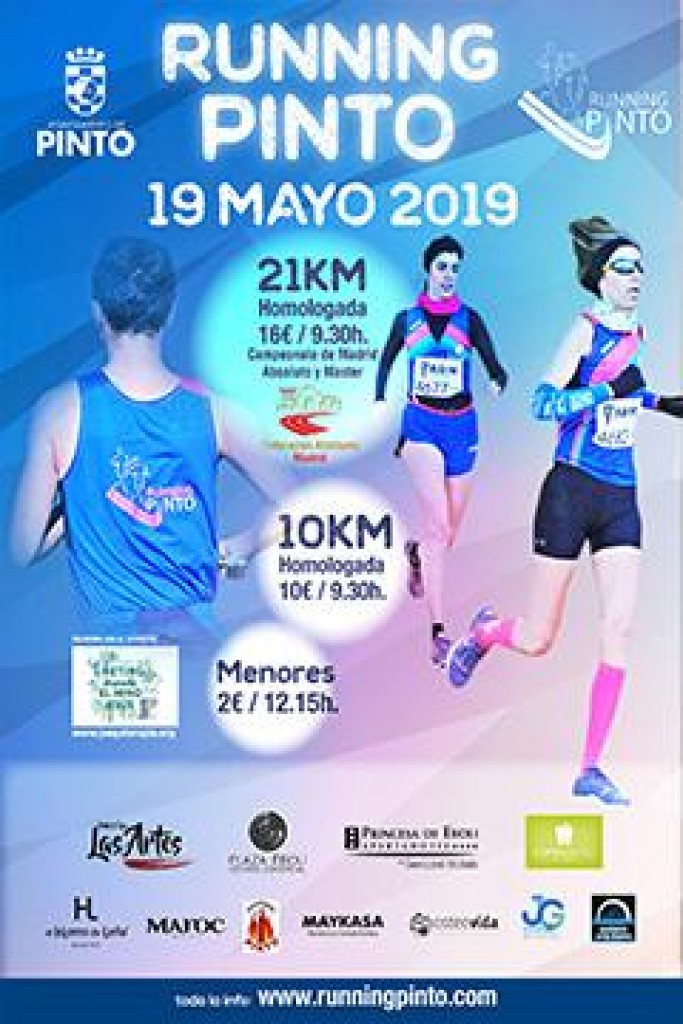 V Medio Maratón Running Pinto - Madrid - 2019