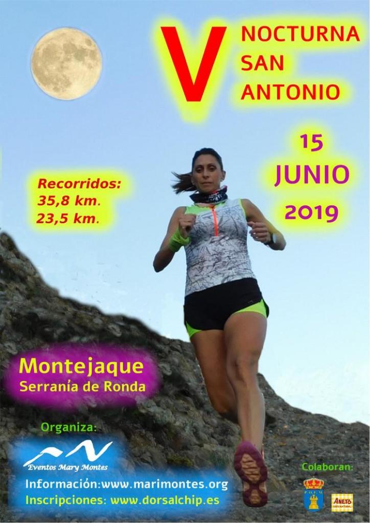 V Nocturna San Antonio de Montejaque - Málaga - 2019
