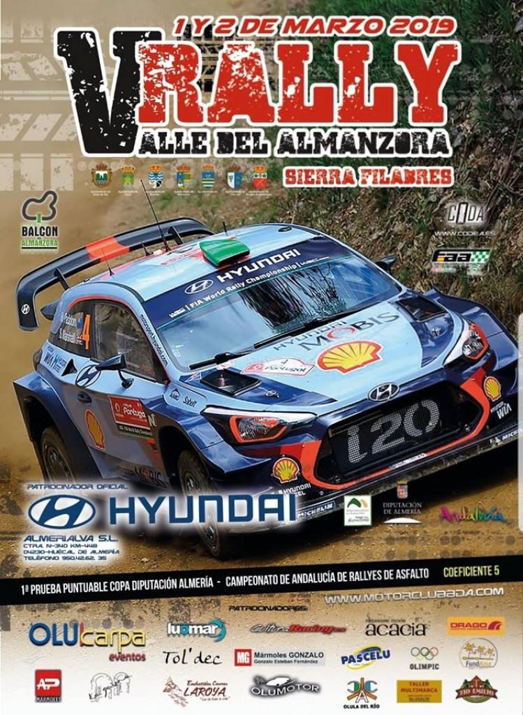 V Rally Valle del Almanzora - Sierra Filabres - Almería - 2019