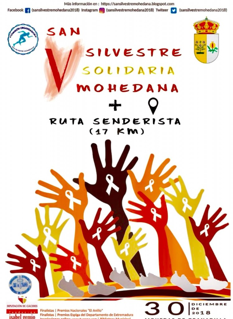 V San Silvestre Solidaria Mohedana - Cáceres - 2018