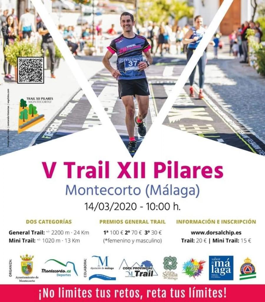 V TRAIL XII PILARES - Málaga - 2020