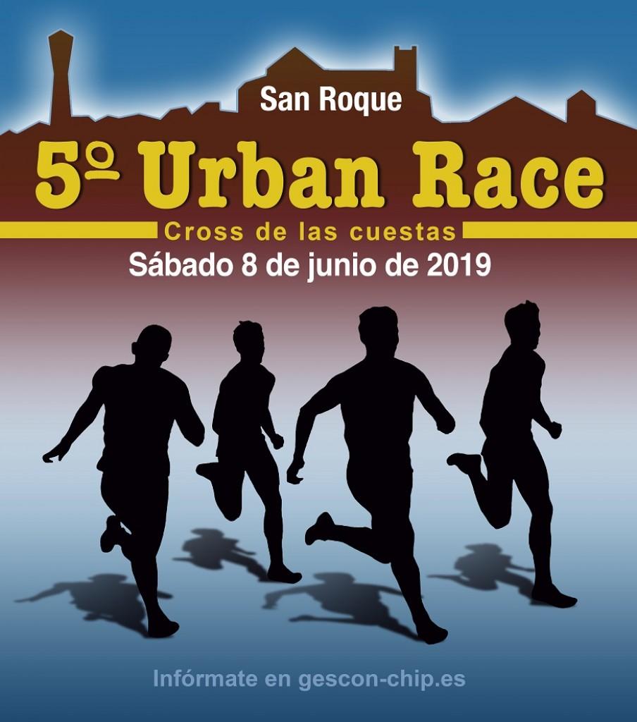 V Urban Race - Cross de las Cuestas - Cádiz - 2019