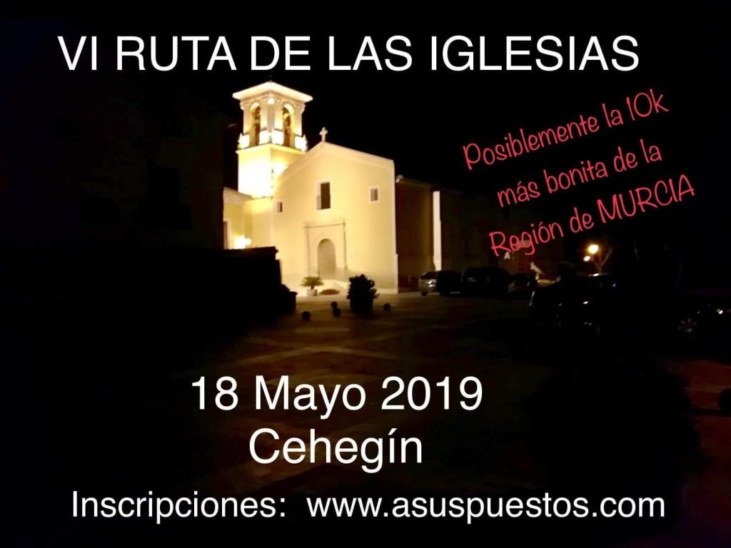 VI 10K RUTA DE LAS IGLESIAS - Murcia - 2019