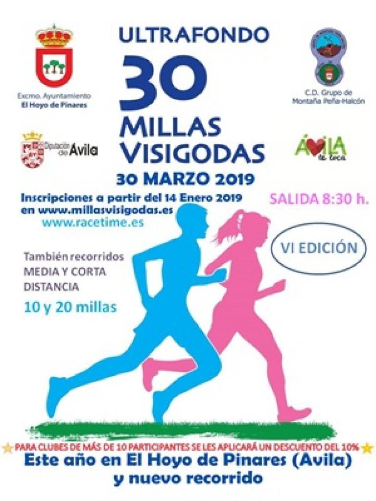 VI 30 Millas Visigodas - Ávila - 2019