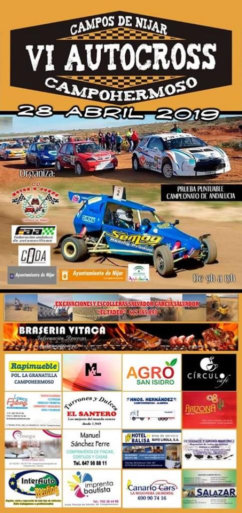 VI AUTOCROSS CAMPOHERMOSO - Almería - 2019