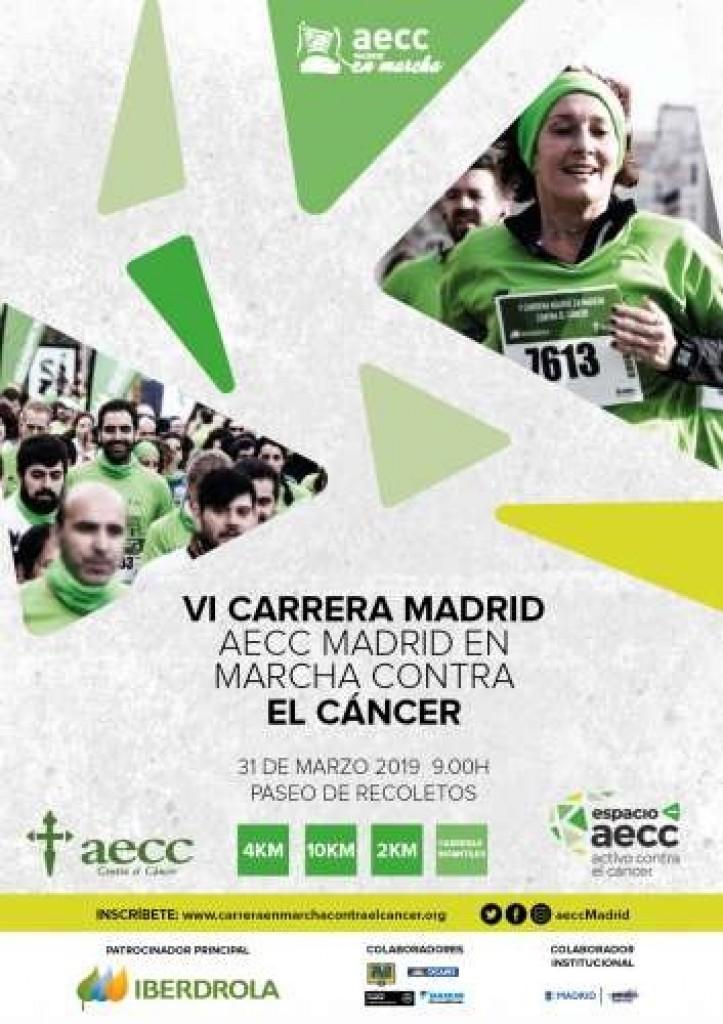 VI Carrera En Marcha contra el Cáncer - Madrid - 2019