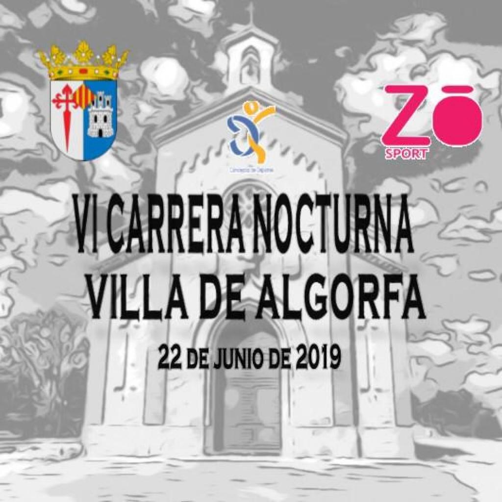 VI CARRERA NOCTURNA 5-10K VILLA DE ALGORFA - Alicante - 2019
