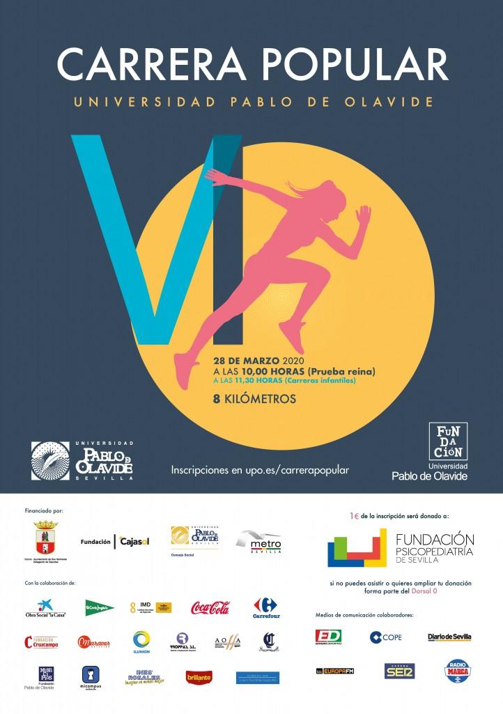 VI CARRERA POPULAR UNIVERSIDAD PABLO DE OLAVIDE - Sevilla - 2020