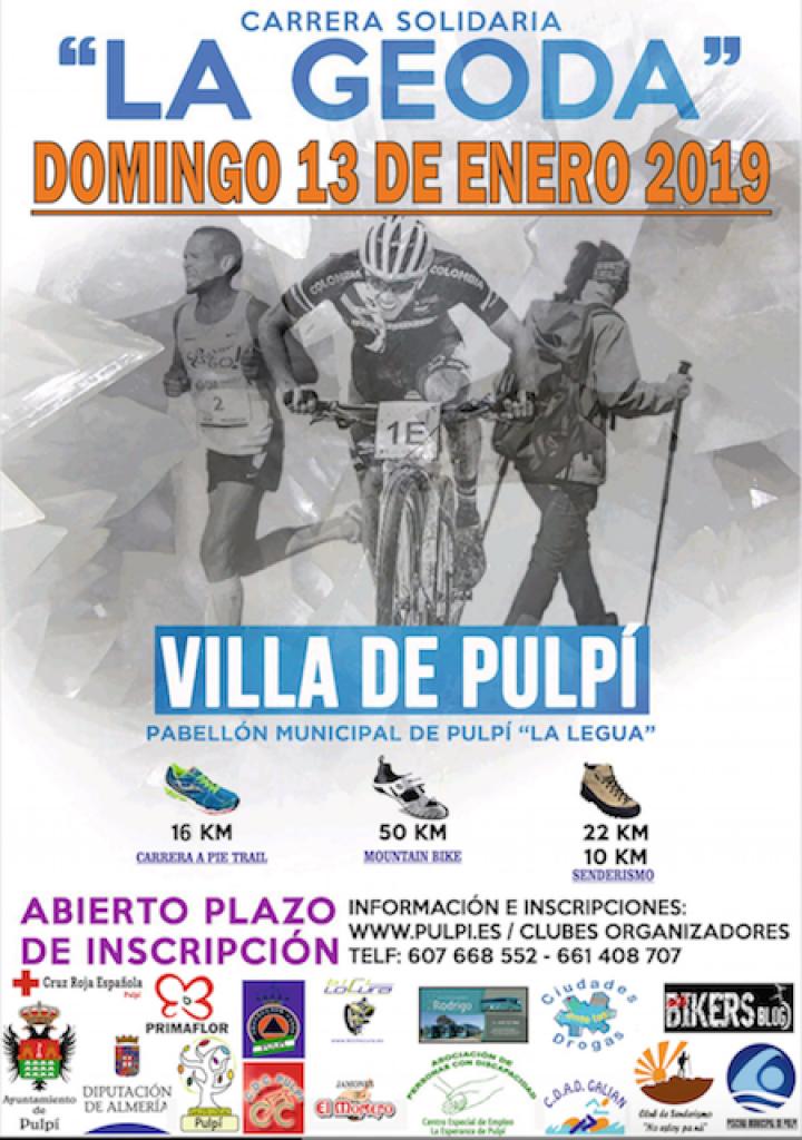 VI CARRERA SOLIDARIA LA GEODA PULPI 2019 - BTT - Almería