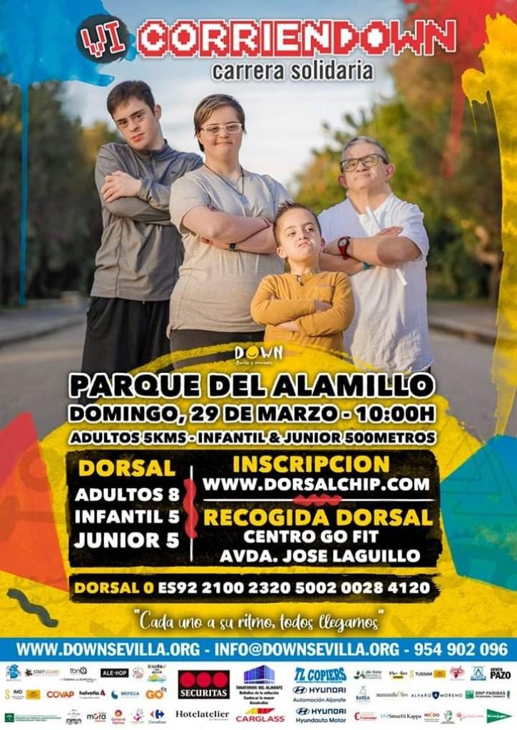 VI CORRIENDOWN - Sevilla - 2020