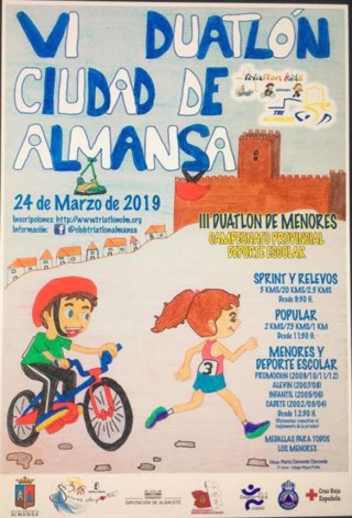 VI DUATLÓN DE ALMANSA 19 -SPRINT- POPULAR- RELEVO - Albacete