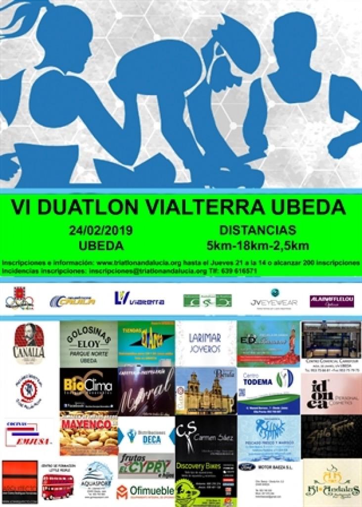 VI DUATLÓN VIALTERRA ÚBEDA - Jaen - 2019