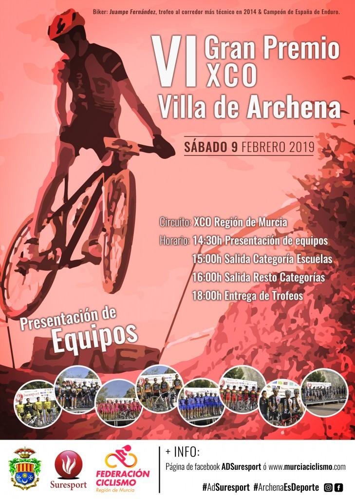 VI GRAN PREMIO VILLA DE ARCHENA ( CIRCUITO XCO REGION DE MURCIA) - 2019