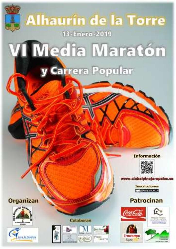 VI MEDIA MARATON ALHAURIN DE LA TORRE - Malaga - 2019