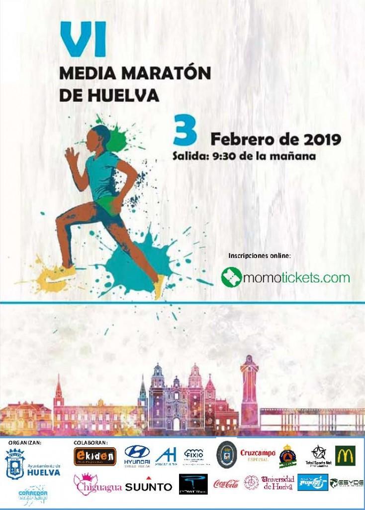 VI Media Maratón de Huelva - 2019