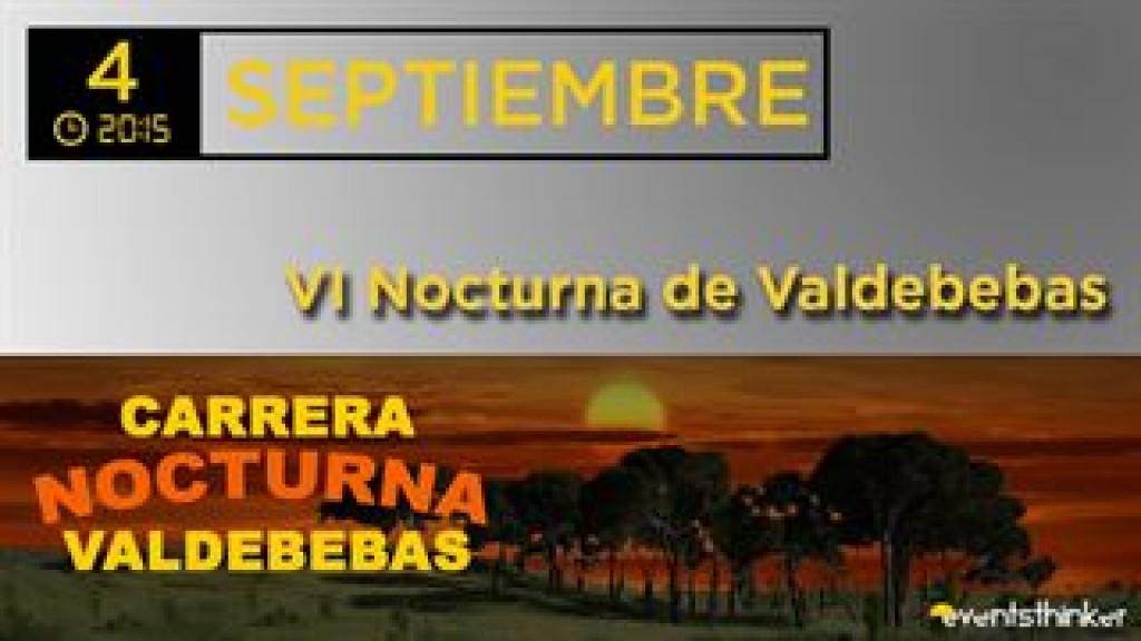 VI Nocturna Valdebebas Madrid 2021