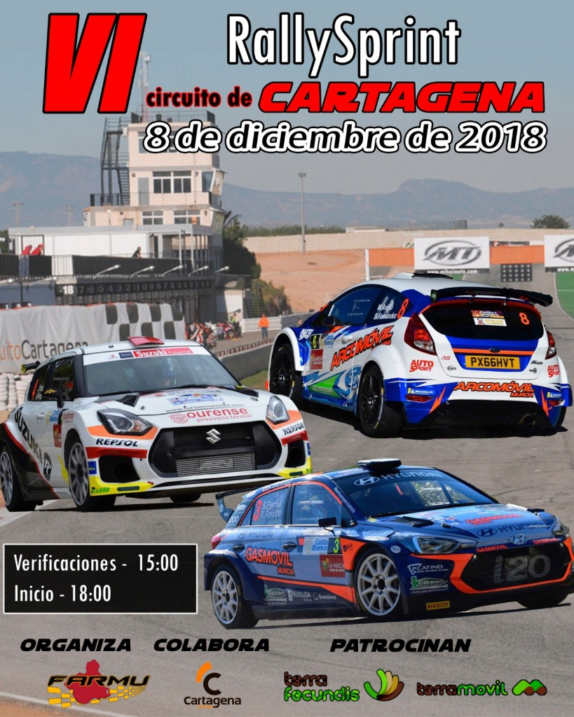 VI RALLYSPRINT CIRCUITO DE CARTAGENA - 2018