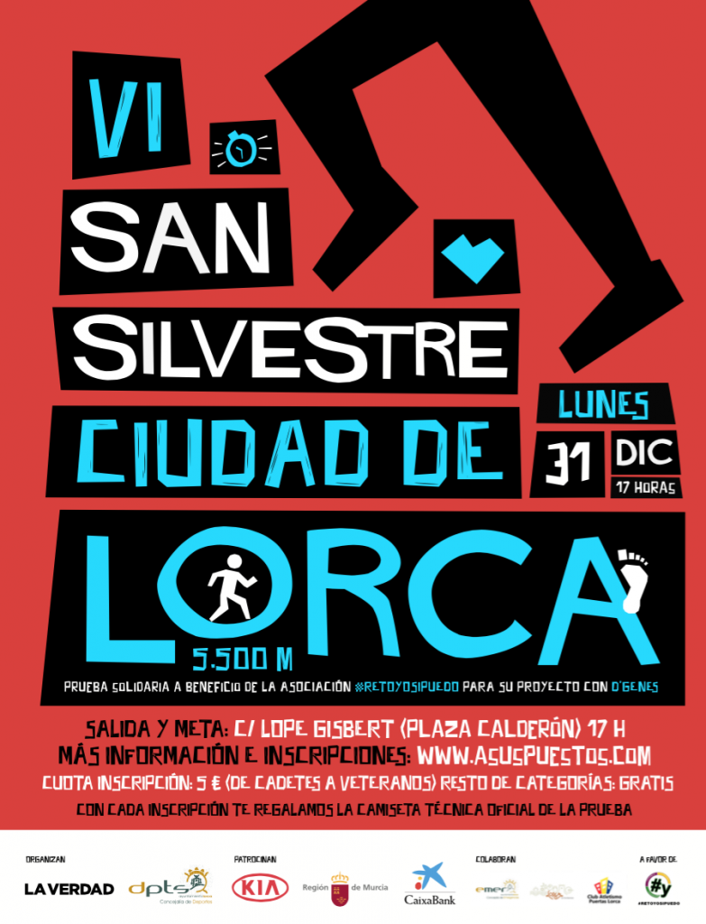 VI SAN SILVESTRE CIUDAD DE LORCA - Murcia - 2018