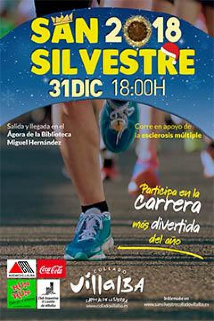 VI SAN SILVESTRE DE COLLADO VILLALBA - Madrid - 2018