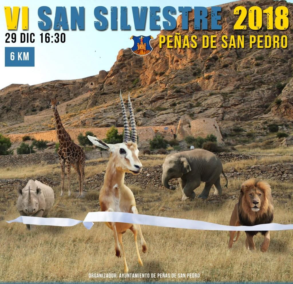 VI San Silvestre Peñas de San Pedro - Albacete - 2018