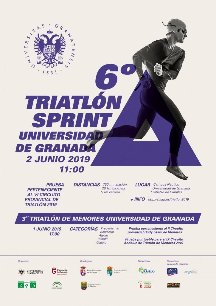 VI TRIATLÓN UNIVERSIDAD DE GRANADA - 2019