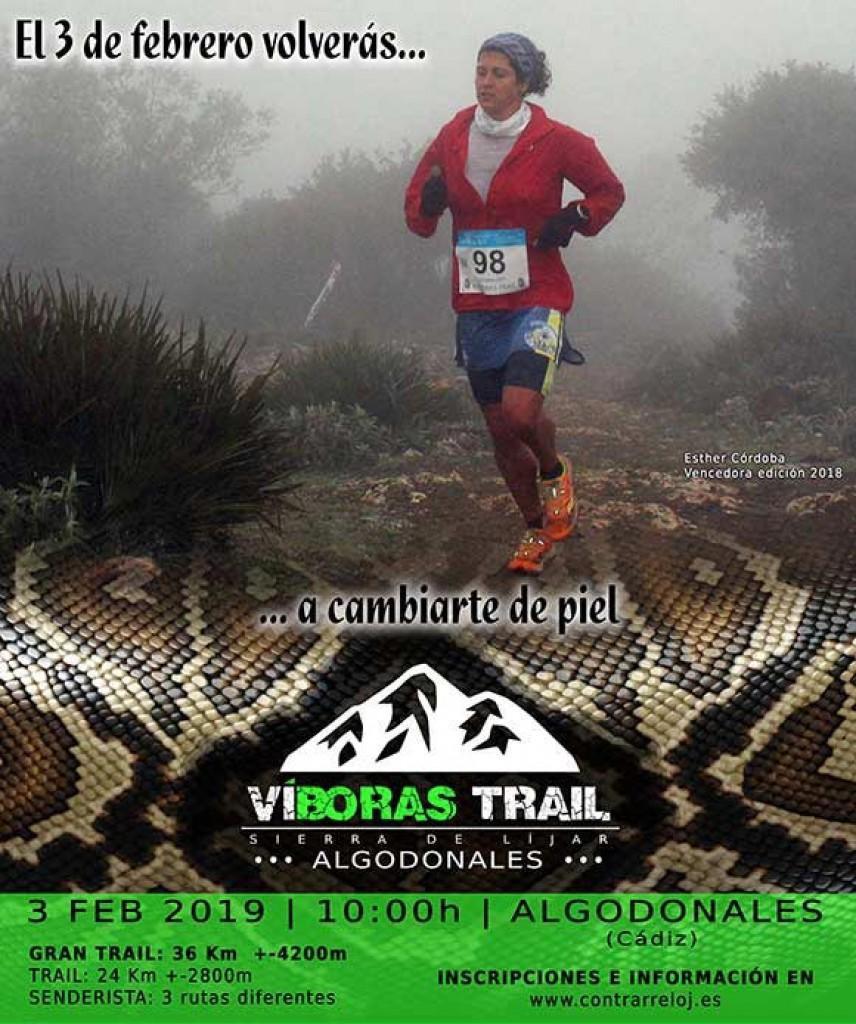 VI Víboras Trail - Cadiz - 2019