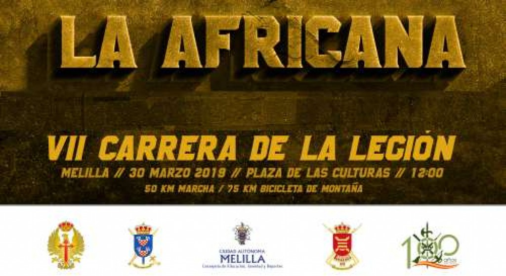 VII Carrera Africana de la Legión de Melilla - 2019