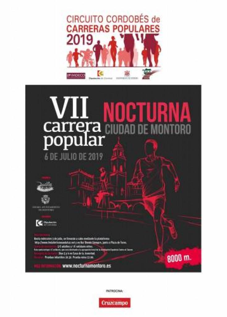 VII Carrera Popular Nocturna Ciudad de Montoro - Córdoba - 2019