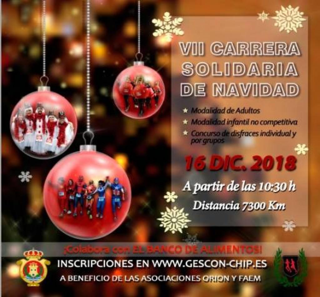 VII CARRERA SOLIDARIA NAVIDAD DE ALGECIRAS - Cadiz - 2018