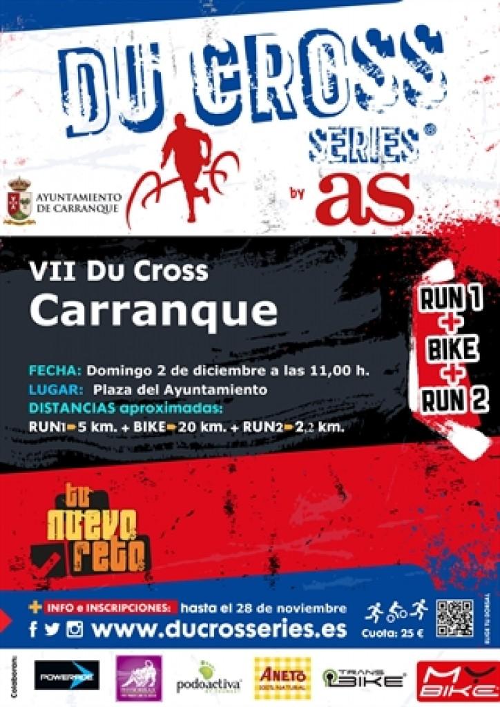 VII DUATLON CROSS CARRANQUE - Toledo - 2018