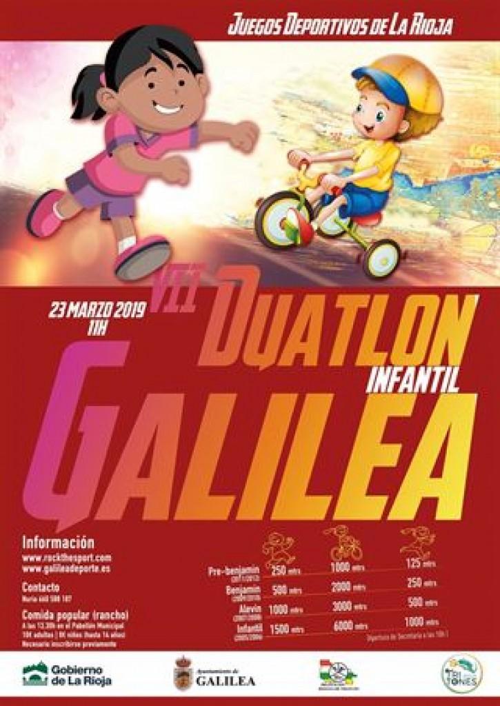 VII Duatlón Infantil de Galilea (JJDD) - La Rioja - 2019