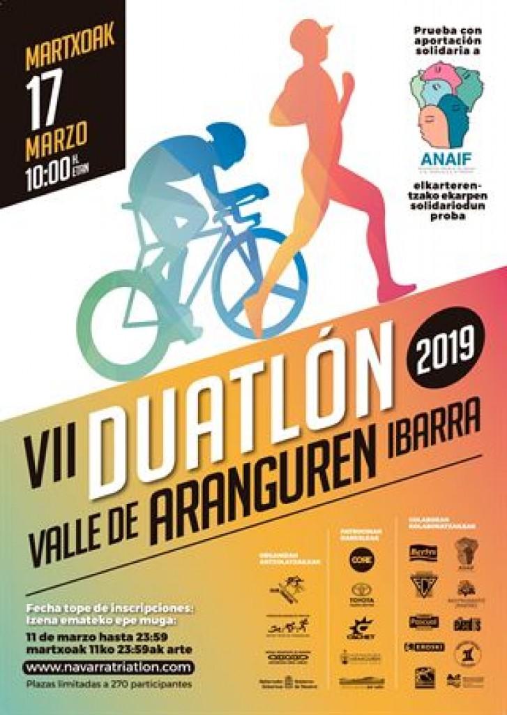 VII Duatlon Valle de Aranguren - Navarra - 2019