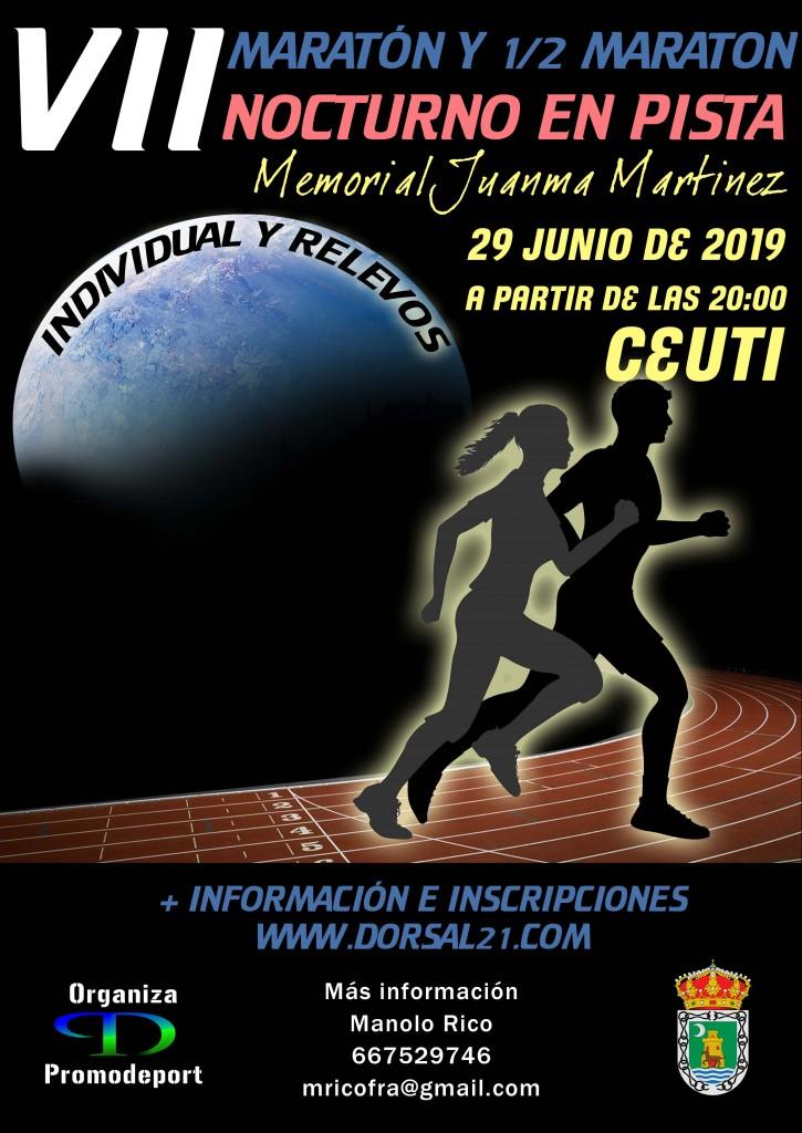 VII Maraton en pista memorial Juanma Martinez - Murcia - 2019