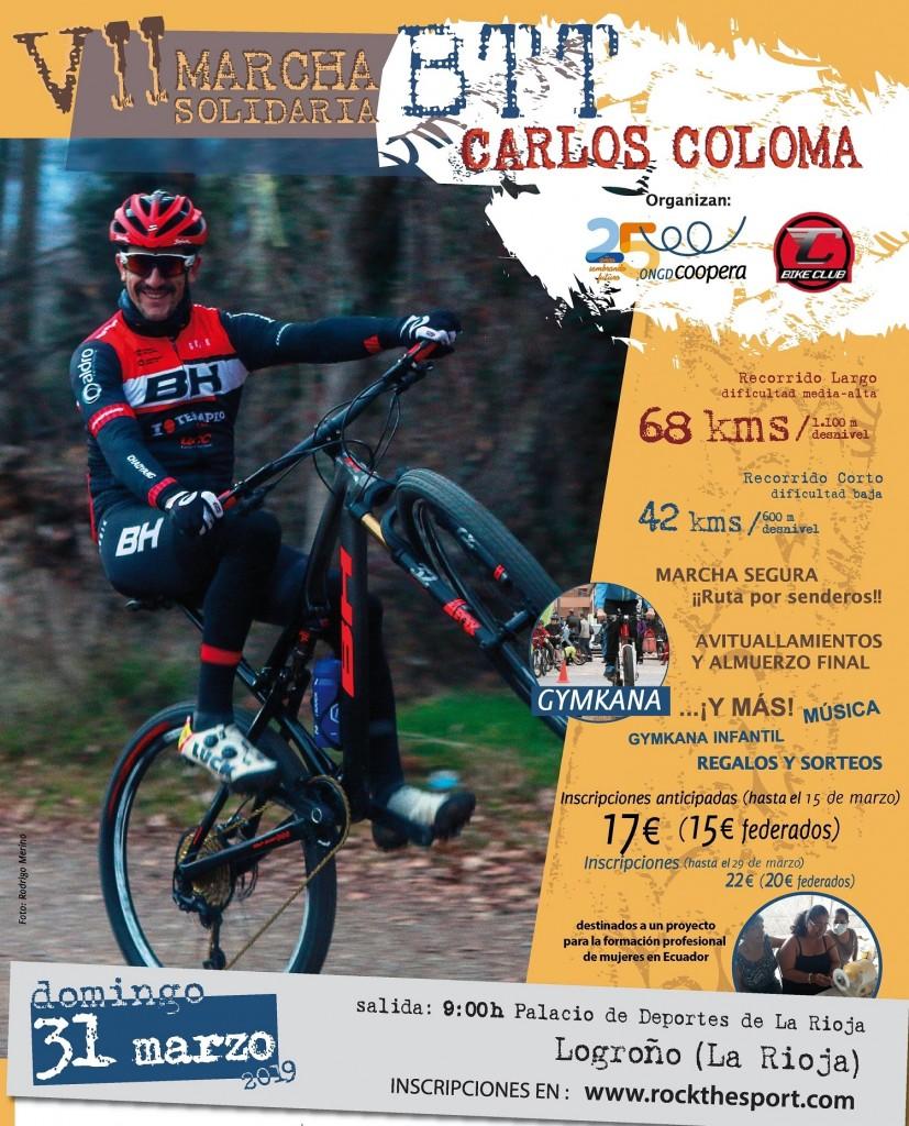 VII Marcha BTT Carlos Coloma con Coopera - La Rioja - 2019