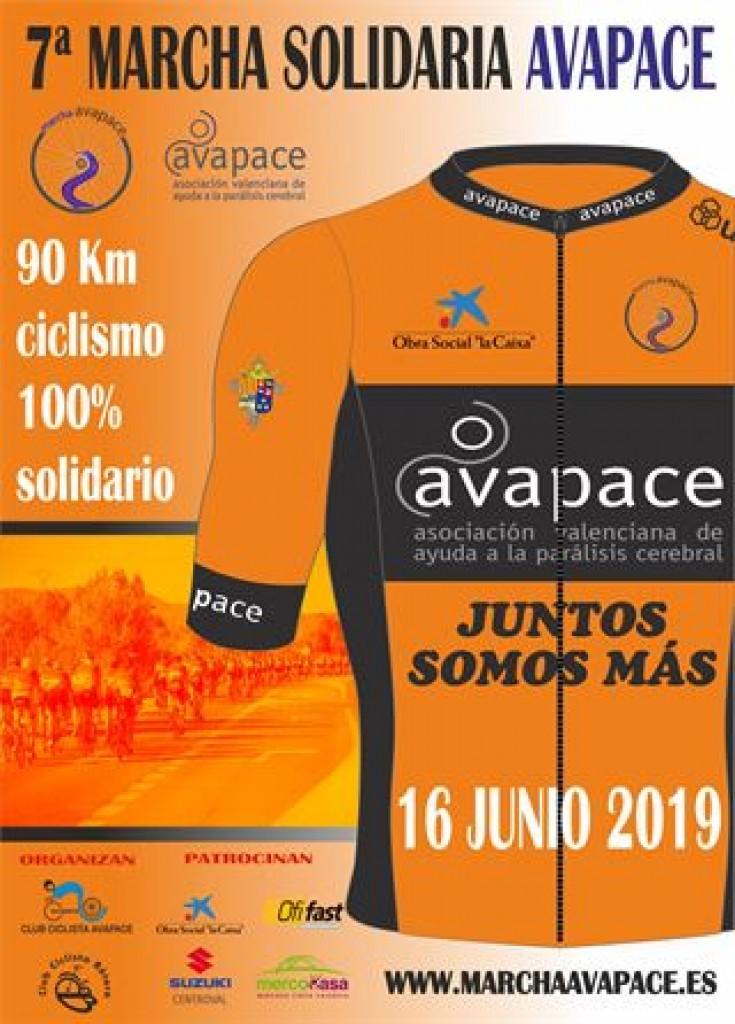 VII Marcha Cicloturista Avapace - Valencia - 2019