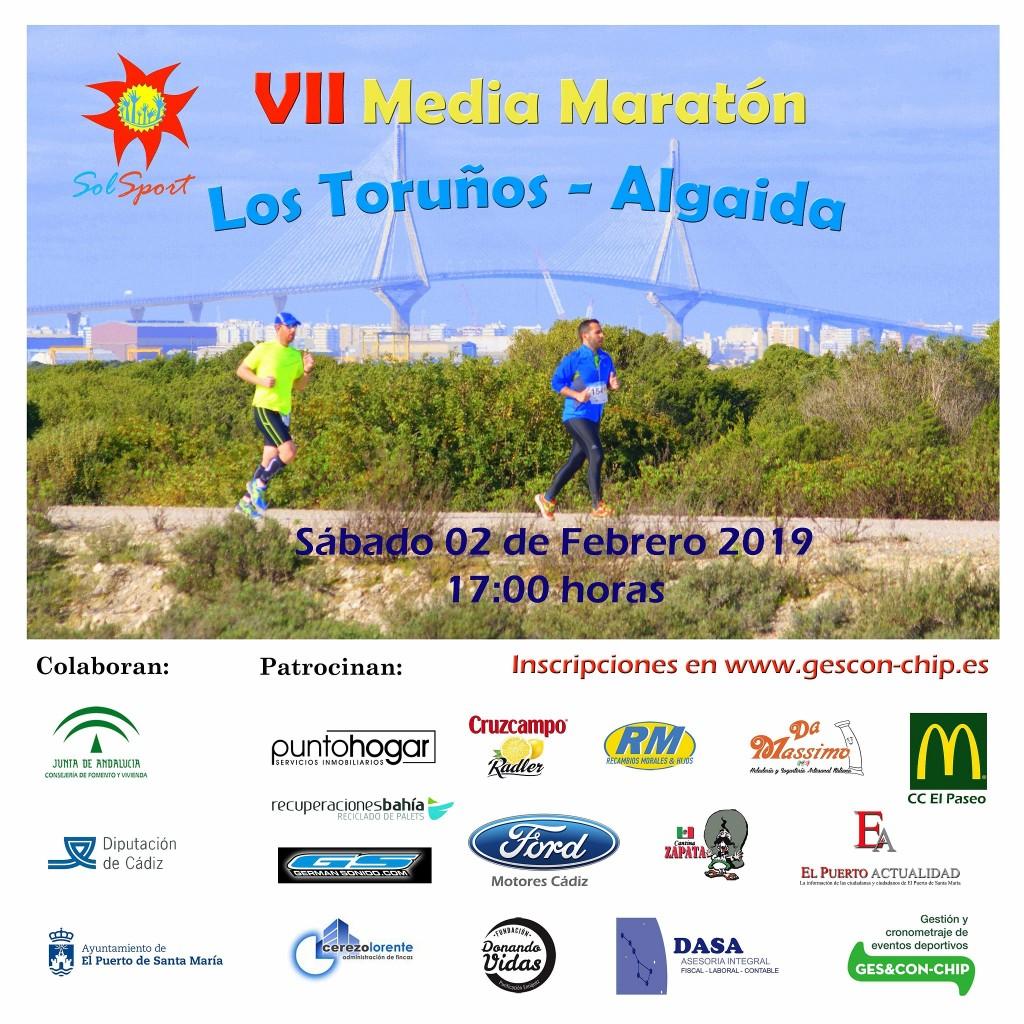 VII Media Maratón Toruños-Algaida - Cadiz - 2019