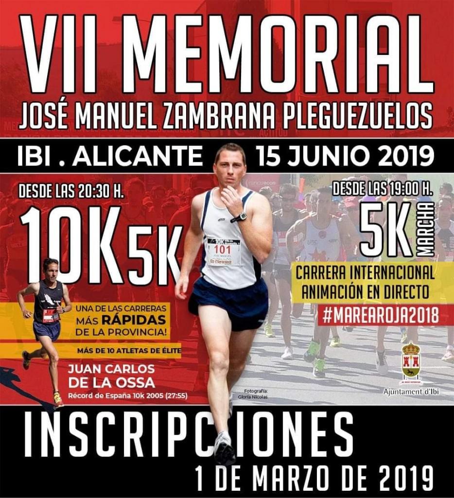 VII MEMORIAL JOSÉ MANUEL ZAMBRANA PLEGUEZUELOS - Alicante - 2019