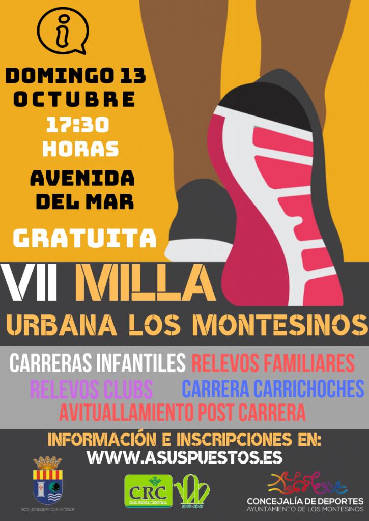 VII Milla Urbana Villa Los Montesinos - Alicante - 2019