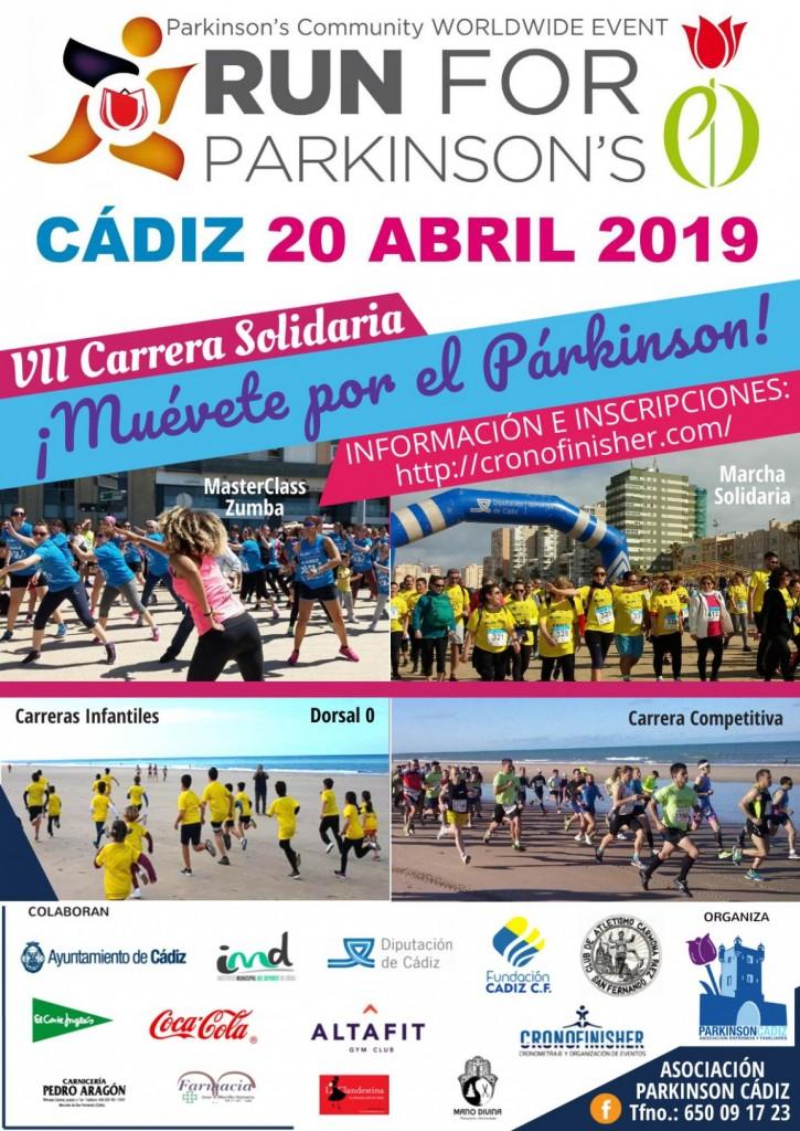 VII RUN FOR PARKINSON CADIZ - 2019